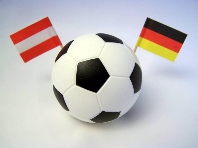 Ball zwischen Österreich und Deutschland